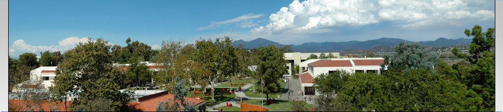 Saddleback College - View of the Quad